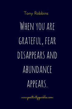 Gratitude Quotes - Positivity Sparkles: Positive Mindset, Positive Attitude
