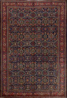 Matt Camron Rugs & Tapestries Antique Persian Mahal Rug