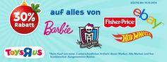 """Toys""""R""""Us ab sofort mit eigenen Markenshop bei eBay - http://www.onlinemarktplatz.de/55249/toysrus-ab-sofort-mit-eigenen-markenshop-bei-ebay/"""