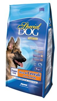 SPECIAL DOG SOUP rich in cereals. Complete dog food. Ideal daily feeding for adult dogs.