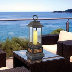 Twin Star Table Top Lantern & Patio Heater