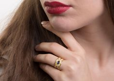 51 Best Byzantine Gold Rings / Etruscan Rings Jewelry images in 2019