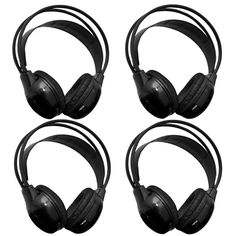 Do you have more than 4 little ears in the back seat?  Then add additional headphones to your order for the extra ears.  These are dual channel headphones for channel A or channel B so they may listen to either signal with the flip of a switch.  #wirelessheadphones #bluetooth #family
