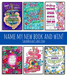 Name my new coloring book and win