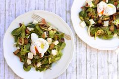 Qooking.ch | Salade printanière Sprouts, Potato Salad, Zucchini, Tacos, Potatoes, Vegetables, Ethnic Recipes, Food, Grilling
