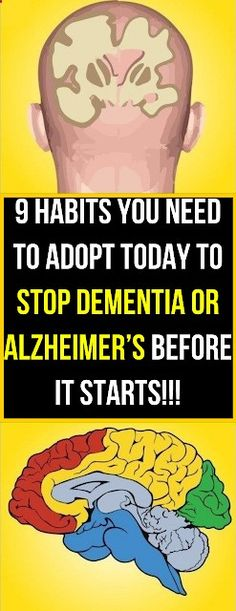 9 Habits You Need To Adopt Today To Stop Dementia or Alzheimer's Before It Starts - Solutions For Healthy Life Vascular Dementia, Dementia Symptoms, How To Stay Healthy, Healthy Life, Healthy Living, Smoking Causes, Cardiac Diet, Cholesterol Levels, Alzheimers