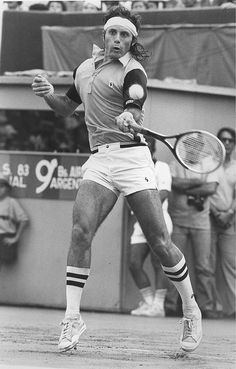 Guillermo Vilas aka The Bull of The Pampas. The fittest player of his time.