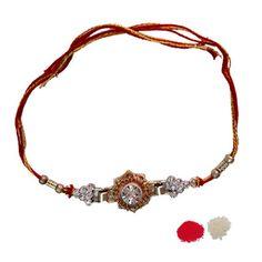 Easy and Simple Handmade Rakhi: Resham Dhaga & Mauli Rakhi!! Read my blog : http://goo.gl/7X3egs