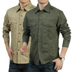 Cheap f shirts, Buy Quality quality shirts directly from China shirts quality Suppliers: AFS JEEP Full Sleeve Cotton Shirt,Good Quality Mens Cargo Working Loose Cardigan Clothe,Men's casual Motorcycle cotton Shirts Black Long Sleeve Shirt, Long Sleeve Shirts, Casual Shirts For Men, Men Casual, Cargo Shirts, Tactical Shirt, T Shirts Canada, Business Shirts, Jeep
