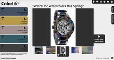 Moon 1 colors and this stunning watch are the inspiration for this Styleboard. Bring your inspiration to life at www.GeneralPaint....