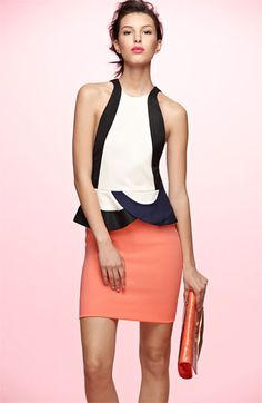 Diane von Furstenberg 'Eon' Peplum Sheath Dress | Nordstrom