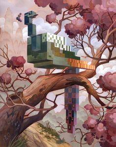 Interesting-3d-Cubic-Animal-Art1.jpg 640×811 pixels