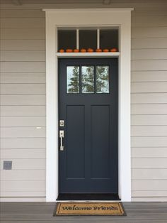 Benjamin Moore Midnight Blue Great Color For Our Exterior House.