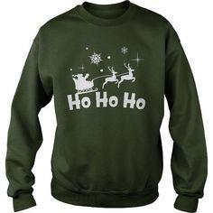 Ho Ho Ho Funny Christmas Shirt Sweater