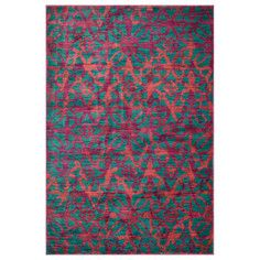 Ellie Rug Teal, $119, now featured on Fab.