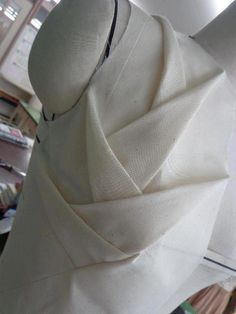 Creative Patternmaking - Shingo Sato inspired bodice design; fabric manipulation; couture sewing; draping; fashion design detail