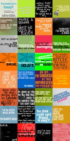 Supernatural Quotes by *ChaseYoungIsMine on deviantART