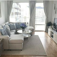 20 of The Best Small Living Room Ideas | Grey sectional sofa, Grey ...