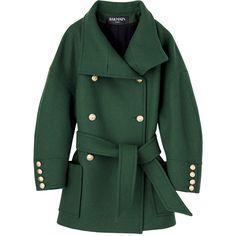 コート ❤ liked on Polyvore featuring coats