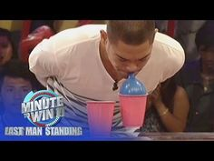 Balloon Pyramid | Minute To Win It - Last Man Standing - YouTube