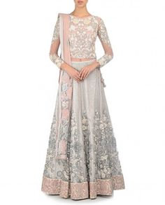 Varun Bahl Zari Embroidered Blush Pink Lengha Set http://www.exclusively.com/zari-embroidered-blush-pink-lengha-set-m-vb23apr15v345-varun-bahl