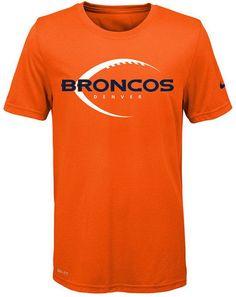 Nike Nfl Legend Denver Broncos T-Shirt, Little Boys(4-7)