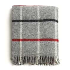 British Made 100% Wool Cabin Blanket - The Future Kept - 1