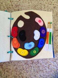 Paint palette color matching page