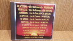 38 SPECIAL. LIVE IN CONCERT. CD / LIVING LEGEND RECORDS - 1991. 11 TEMAS / CALIDAD LUJO.