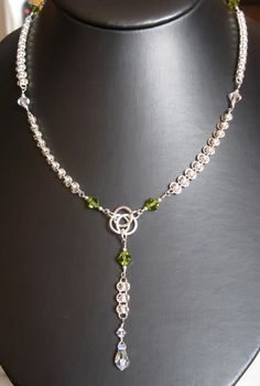 chainmaille | and this is my weave Corvus Chain that is based on Barrel Weave 0.8mm ...
