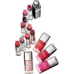 Dior 'Vernis Color Block' Nail Enamel (840 THB) ❤ liked on Polyvore featuring beauty products, nail care, nail polish, makeup, beauty, nails, cosmetics, christian dior nail polish, shiny nail polish and christian dior