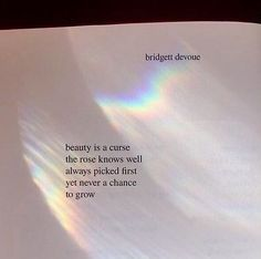 Picture outcome for quotes in books rainbow aesthetic Poem Quotes, Words Quotes, Best Quotes, Life Quotes, Sayings, Quotes In Books, Book Qoutes, Rainbow Quote, Rainbow Aesthetic