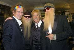 Keith 'Keff' Richards (Stones) and ZZ Top.
