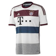 Bayern Munich Away Jersey 2014 – 2015 Brand New With Tags Worn during  season Official Soccer Merchandise Suitable for Adults - Available in  Multiple Sizes ... 552052df0