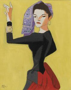 Portrait of Juliet - Man Ray
