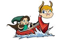 #KingofRedLions from the #LegendofZelda #WindWaker with a bit of #LordBarta and Sarah