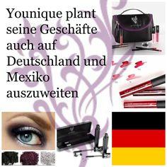 Younique plant seine Geschäfte auch auf Deutschland und Mexiko auszuweiten