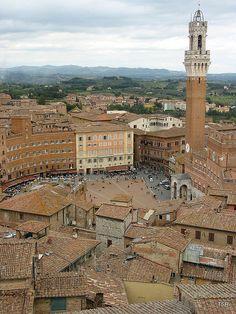 Il Campo Siena, Tuscany, Italy