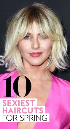 The Top 10 Sexiest Haircuts for Spring The Top 10 Sexiest Haircuts for Spring Sabine Teeten sabineteeten Hair and Beauty 10 sexiest haircuts for spring springhaircuts hairstyles haircutideas nbsp hellip 2019 Medium Hair Styles, Curly Hair Styles, Medium Fine Hair, Hot Haircuts, Hairstyles Haircuts, Choppy Bob Hairstyles With Bangs, Hairstyles For Long Faces, Layered Bob Hairstyles, Modern Haircuts