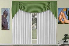 Elegant Curtains, Beautiful Curtains, Drapes Curtains, Drapery, Valances, Valences For Windows, Arched Windows, Kids Window Treatments, Blue And Gold Bedroom