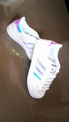 #Adidas #superstar #white #holo #sport #shoes #adidassuperstar #nice #fit
