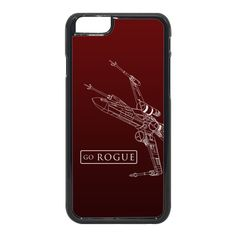 Up for grabs is a custom designed iPhone 6/6S/6+ Cell Phone Case with a Star Wars inspired Design Go Rogue. Make a GREAT gift for the Star Wars Fan in your life!!  Be sure to check out our other Star Wars Inspired items to complete the set!  These cases are made using a process called sublimation, which means the color bonds to the material of the case at a molecular level. These items are HIGH QUALITY. Your image will last on the case for years with little to no fading!  We also o...