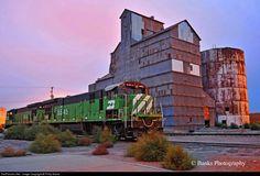RailPictures.Net Photo: BN 5545 Burlington Northern Railroad GE C30-7 at Alliance, NE, Pennsylvania by Philip Banks