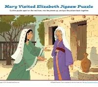 relationship of mary and elizabeth in bible