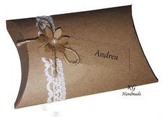 10x Pillowbox Geschenkschachtel Gastgeschenk Vintage Kissenbox Hochzeit  in Möbel & Wohnen, Hochzeitsdekoration, Gastgeschenke | eBay!