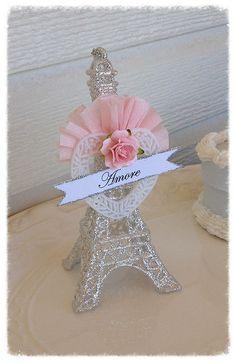 Valentine Decoration Gold or Silver Beautiful Eiffel Tower