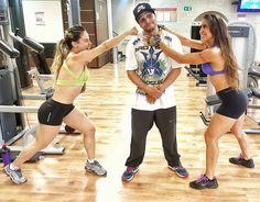 E o que foi esse treino @grazyalcantara  @hugoperregil???? Sasenhoraaaaaa  no final a única vontade era de revidar o sofrimento kkkkkkk #treinotop #quadriceps #nopainnogain #carrasco #fitnesslifestyle #fitnessgirl #fitness #fitnessmotivation #fitnesslife #workouttime #workoutmotivation #workout #gym #gavioes #academia by natigalgos