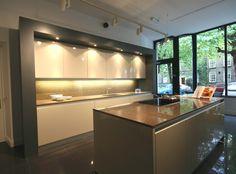 Superb Door styles TRUE handleless kitchens co uk Interesting framing idea
