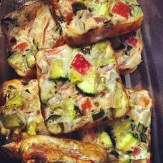 fitness & fro-yo: egg white vegetable bars