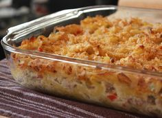 Chef John Food Wishes Video Recipes: Turkey Noodle Casserole – Getting Ready for Thanksgiving Leftover Leftovers